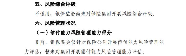 中国人保风险评级